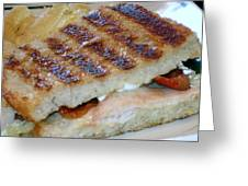 Grilled Sandwhich Greeting Card