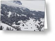 Grindelwald In Winter 3 Greeting Card