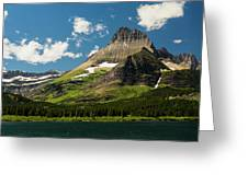 Grinell Mountain Greeting Card