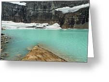 Grinnell And Salamander Glaciers Greeting Card by Jemmy Archer