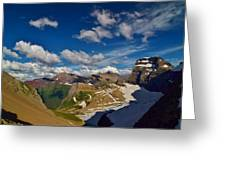 Grinnell Glacier Overlook Greeting Card