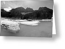 Grinnell Glacier Panorama Greeting Card
