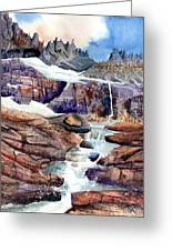 Grinnell Glacier Greeting Card