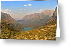 Grinnell Glacier Trail Glacier National Park Greeting Card