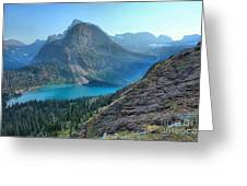 Grinnell Lake - Many Glacier Greeting Card