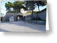 Gripe Fort Entrance Greeting Card