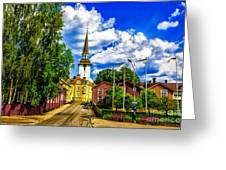 Gripsholm Church Greeting Card