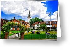 Gripsholms Dardshus Greeting Card