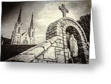 Gritty Faith Greeting Card