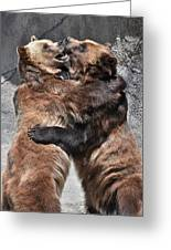 Grizzlies' Playtime 2 Greeting Card