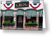 Grog Greeting Card