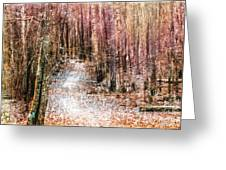 Grongarn Forest Painterly Greeting Card