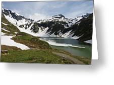 Grossglockner High Alpine Road Greeting Card