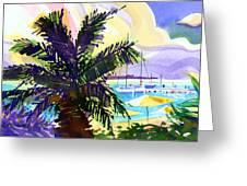 Grotto Bay Greeting Card