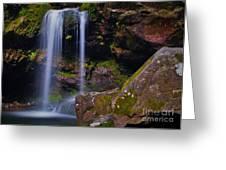 Grotto Falls Greeting Card