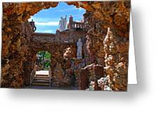 Grotto Of Redemption In Iowa Greeting Card
