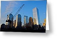 Ground Zero - Nyc - Greeting Card