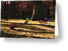 Groundhog Hill Cemetery Greeting Card