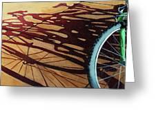 Group Hug - Bicycle Art Greeting Card by Linda Apple
