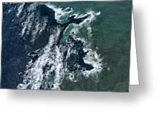 Growing Kapoho Coastline Greeting Card