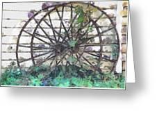 Growing Wheels Greeting Card