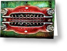 Growling Grill Greeting Card