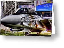 Grumman F-14a Tomcat Greeting Card