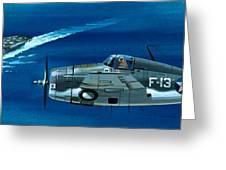 Grumman F4rf-3 Wildcat Greeting Card