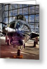Grumman F9f-8 F-9j Cougar Greeting Card