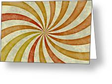 Grunge Swirl Greeting Card