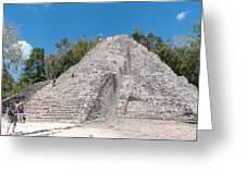 Grupo Nohoch Mul At The Coba Ruins  Greeting Card