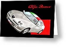 Gtv Alfa Greeting Card