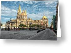 Guadalajara Cathedral Greeting Card