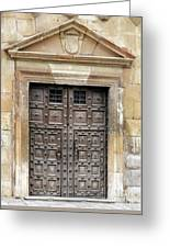 Guadalajara Door 4 Greeting Card