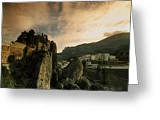 Guadalest Greeting Card