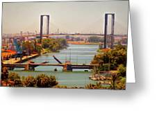 Guadalquivir River Greeting Card