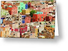 Guanajuato 3, Mexico. Greeting Card by Rob Huntley