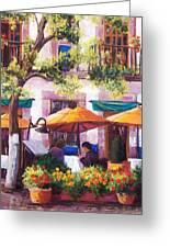 Guanajuato Cafe Greeting Card