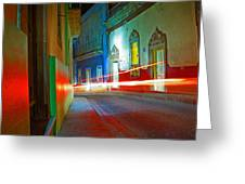 Guanajuato Night Greeting Card