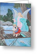 Guardian Angel Donated Greeting Card