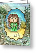 Guardian Angel Gentleness Greeting Card