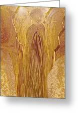 Guardian Angel Greeting Card by Linda Sannuti