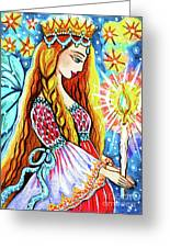 Guardian Mother Of Life Greeting Card