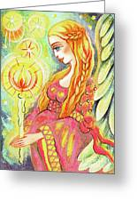 Guardian Mother Of Light Greeting Card