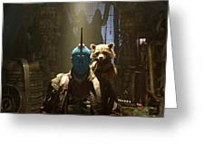 Guardians Of The Galaxy Vol. 2 Greeting Card