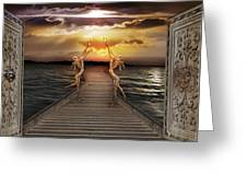 Guardians Of The Light Greeting Card
