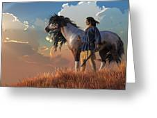 Guardians Of The Plains Greeting Card