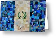 Guatemala Flag Greeting Card