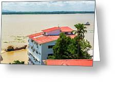 Guayaquil River View Greeting Card