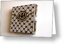 Gucci Bag Greeting Card